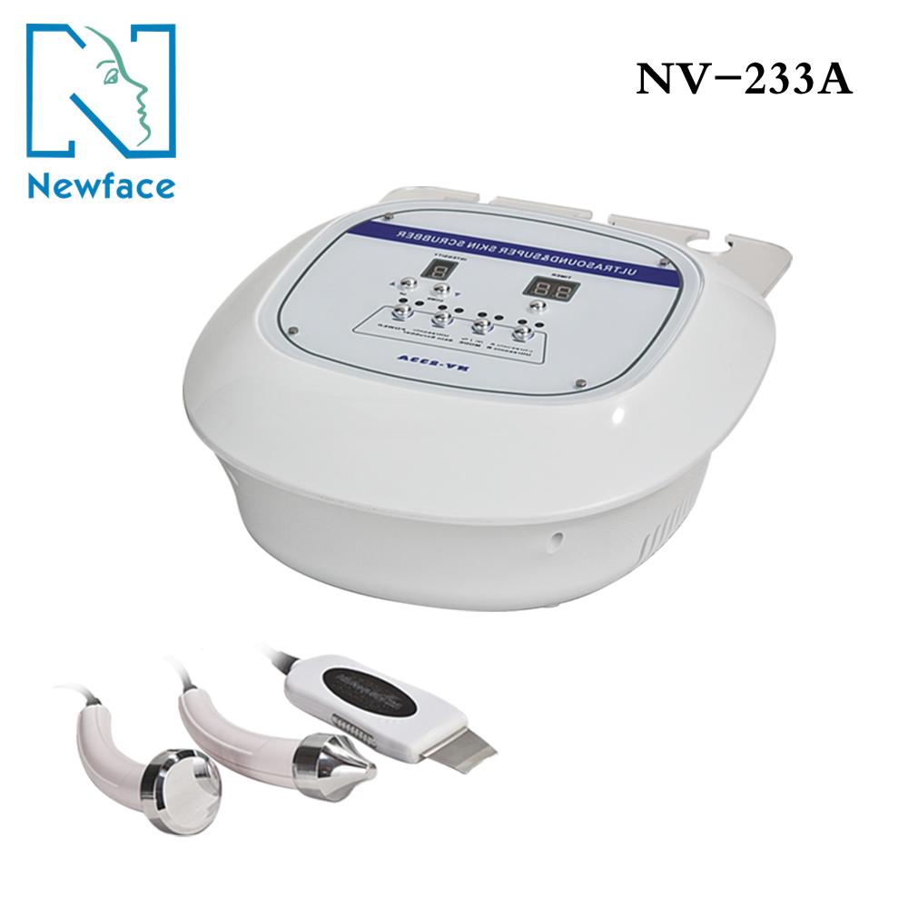 Косметологічний апарат NV-233A 2 в1 фонофорез і ультразвуковий пілінг