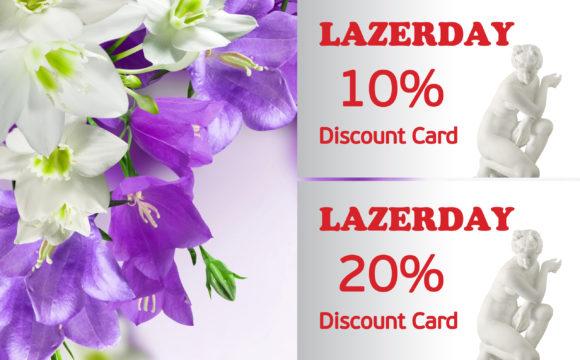 Дисконтні картки для постійних клієнтів