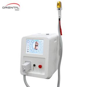 Портативний діодний лазер на три хвилі 755 нм+808 нм+1064 нм